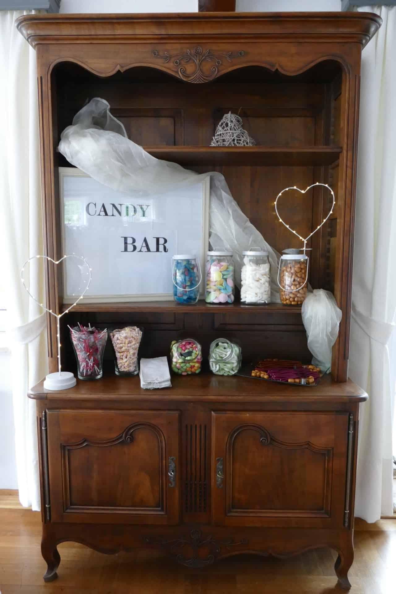 Candy Bar - beliebt bei großen und kleinen Hochzeitsgästen | Hof Barrl Schneverdingen