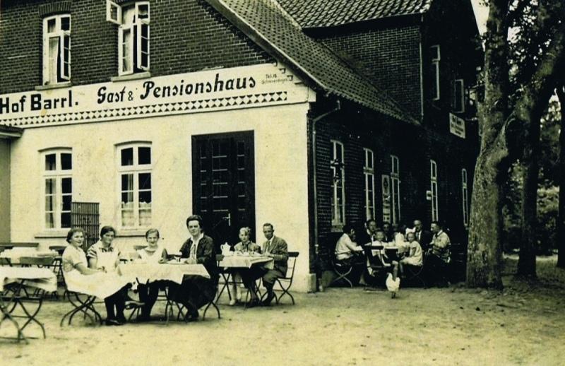 Hof Barrl Anfang der 19. Jahrhunderts