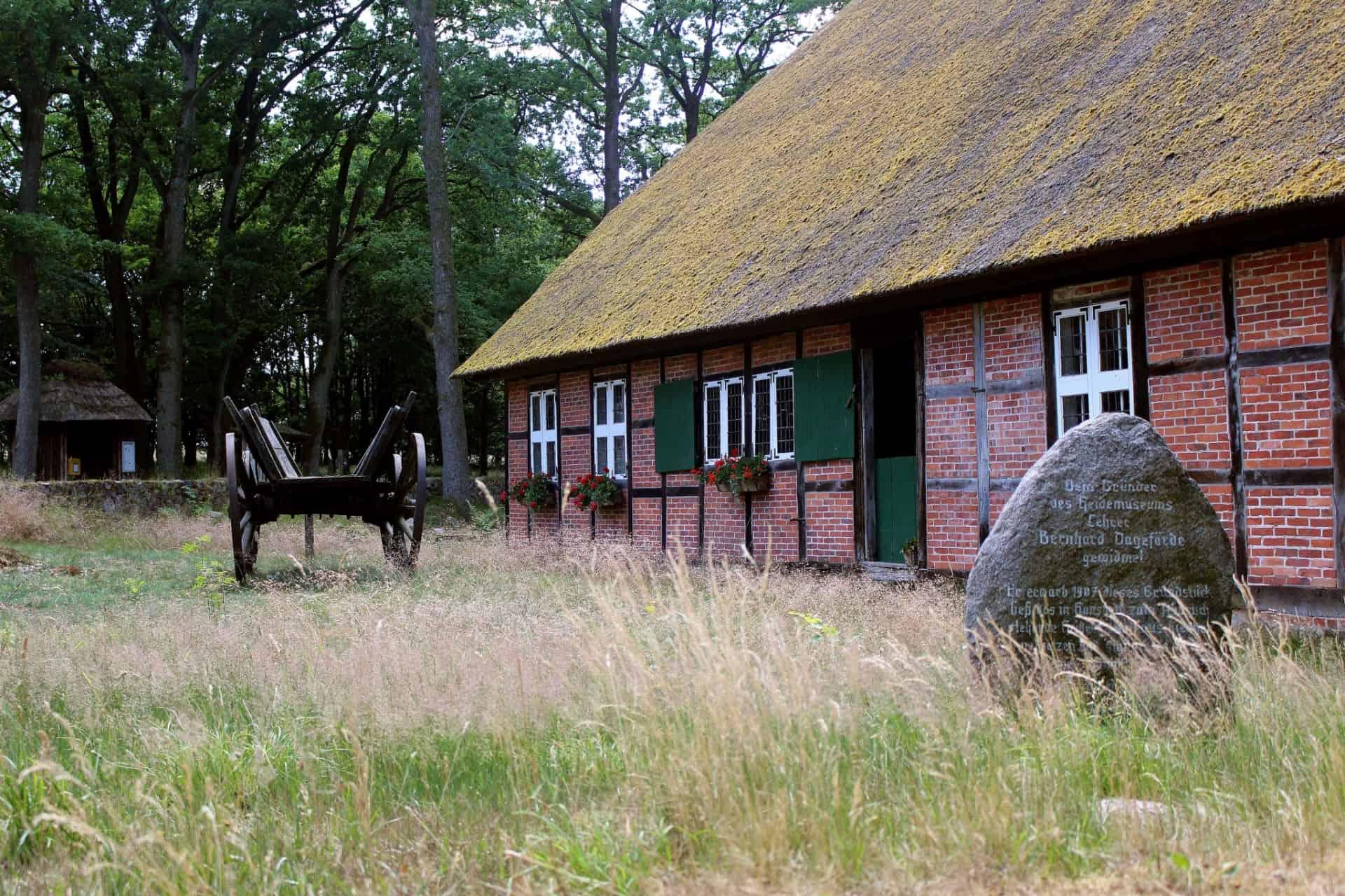 """Heidemuseum """"Dat ole hus"""" in Wilssede"""