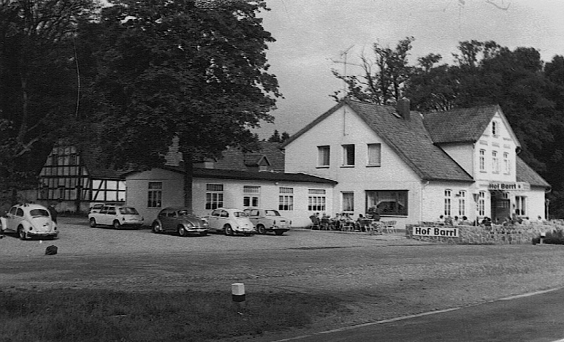Historische Aufnahme von Hof Barrl