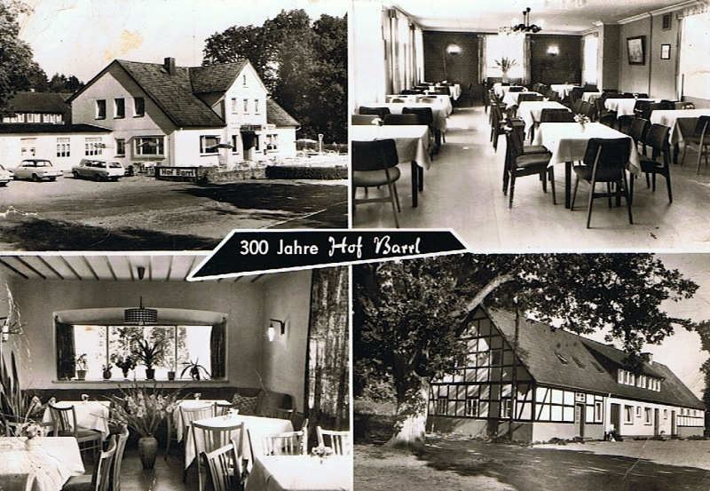 "Postkarte ""300 Jahre Hof Barrl"""