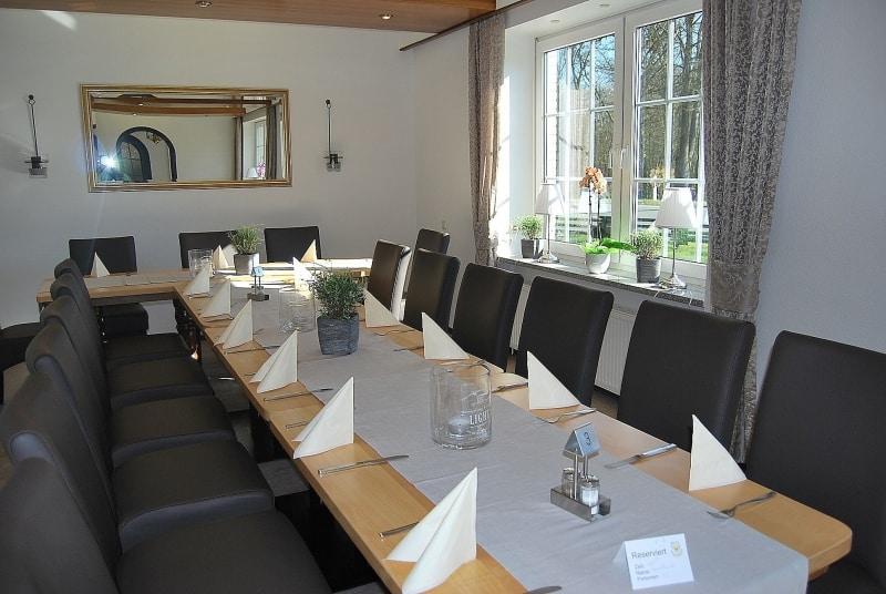 Roter Salon | Restaurant Café Hof Barrl in Schneverdingen