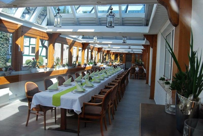 Wintergarten | Restaurant Café Hof Barrl in Schneverdingen