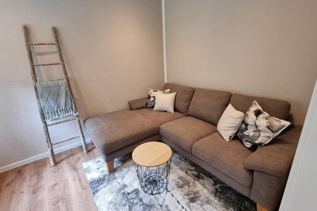 Sitzecke im Gästezimmer | Hof Barrl in Schneverdingen Lüneburger Heide