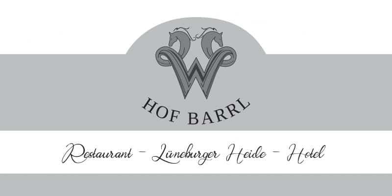 Titelblatt Hausprospekt/Flyer Restaurant - Hof Barrl - Hotel in 29640 Schneverdingen/Lüneburger Heide
